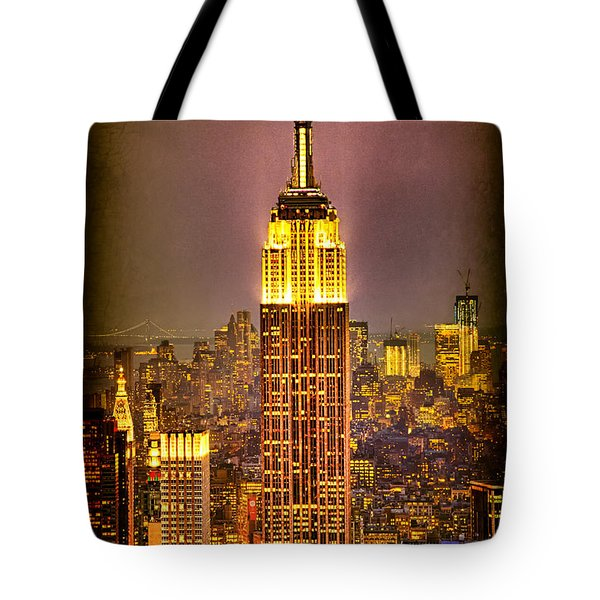 Empire Light Tote Bag by Chris Lord
