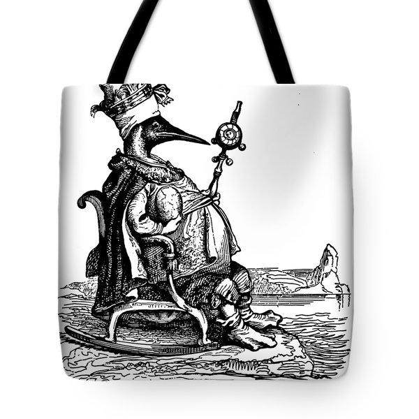 Empire Penguin Grandville Transparent Background Tote Bag