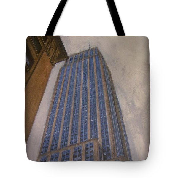 Empire State Building 2 Tote Bag by Anita Burgermeister