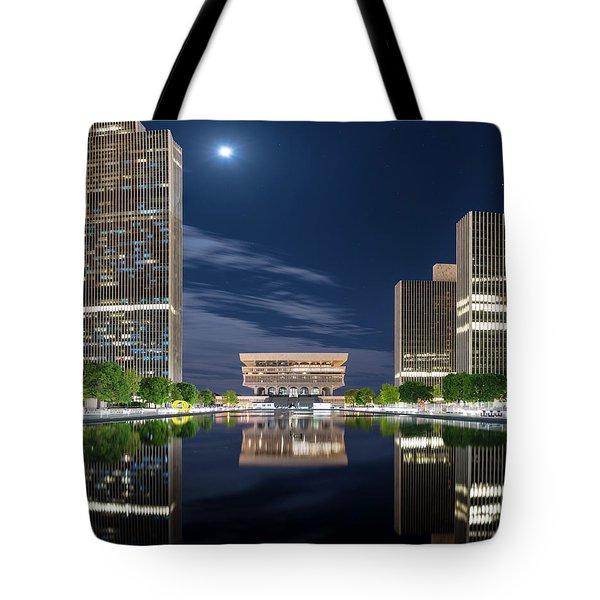 Empire State Plaza Tote Bag