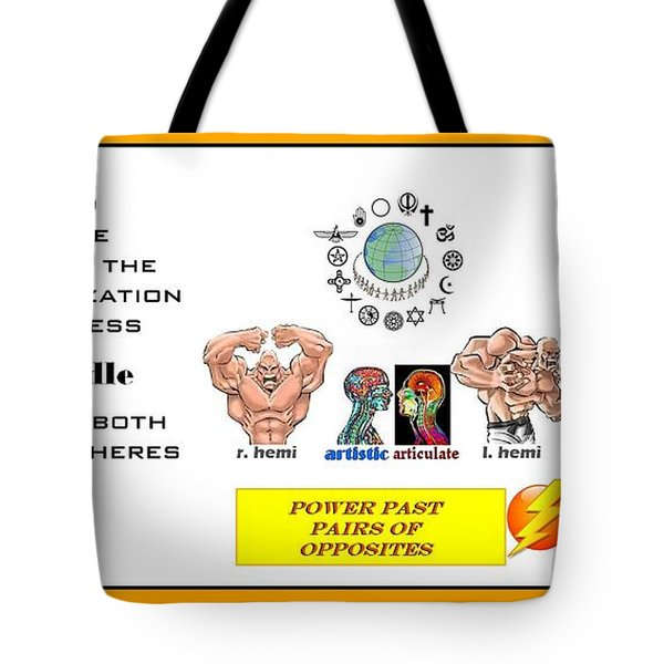 Empowering Tote Bag by Peter Hedding
