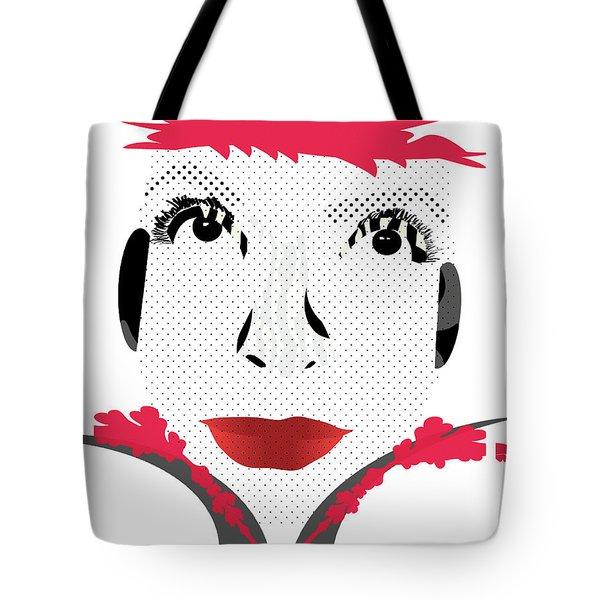 Empress Red Tote Bag