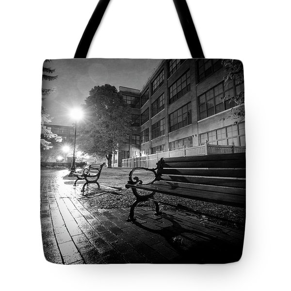 Tote Bag featuring the photograph Emptiness by Everet Regal