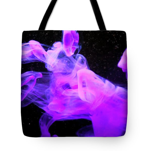 Emptiness In Harmony - Fine Art Photography - Paint Pouring Tote Bag