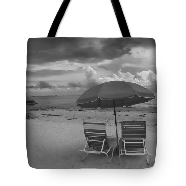 Tote Bag featuring the photograph Emptiness by Jeff Breiman