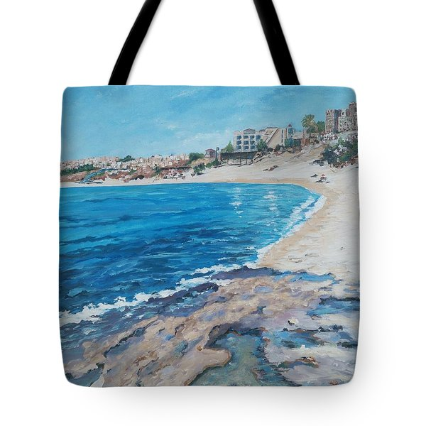 Empty Beach Tote Bag