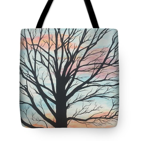 Empty Beauty Tote Bag