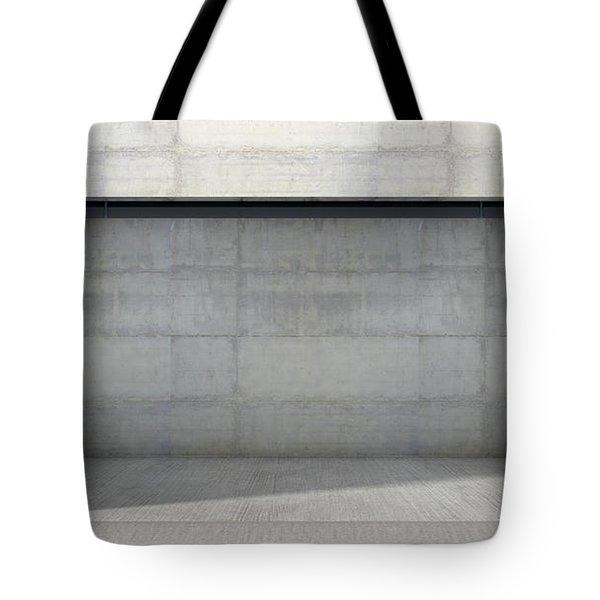 Empty Double Garage Tote Bag