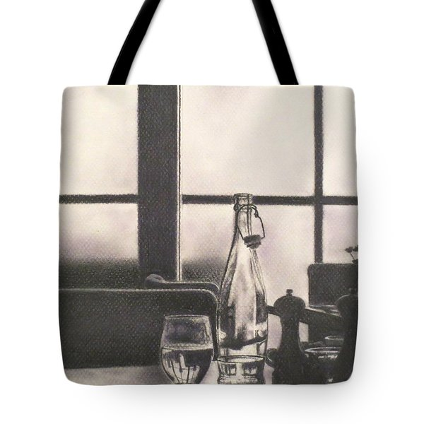 Empty Glass Tote Bag