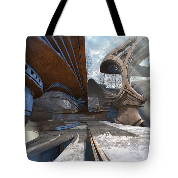 Empty Plaza Tote Bag