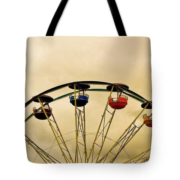 Empty Seats Tote Bag by Bob Orsillo