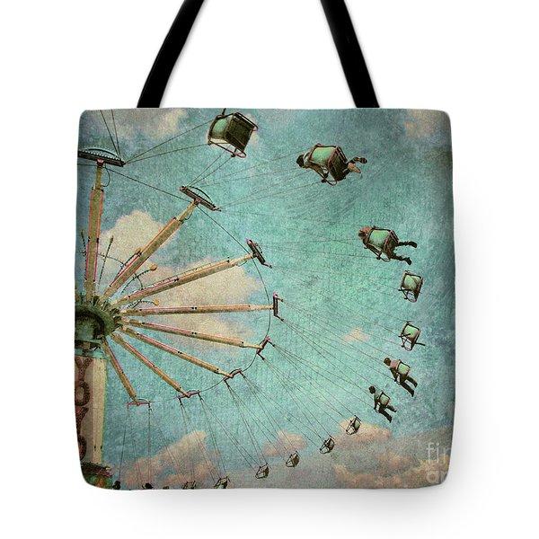 Empty Seats Tote Bag by Tara Turner