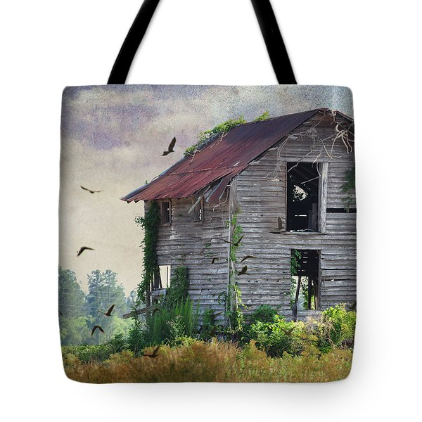 Empty Spaces Tote Bag by Jan Amiss Photography