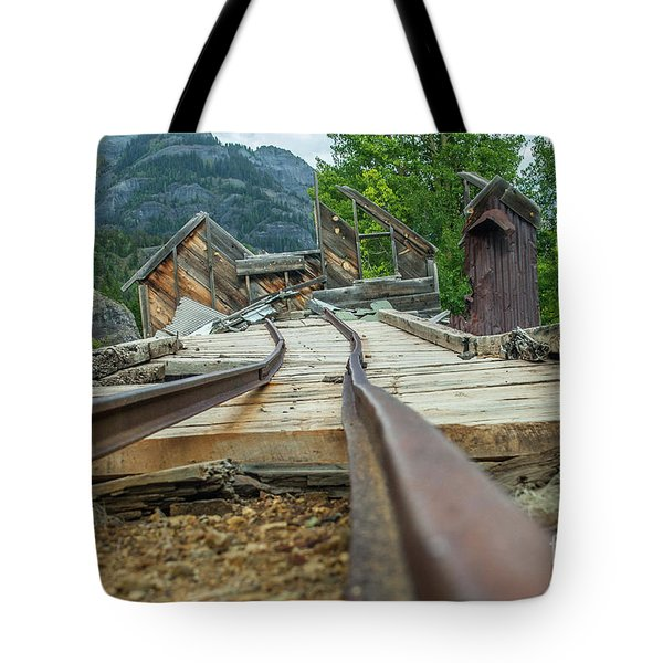 Empty Tracks Tote Bag