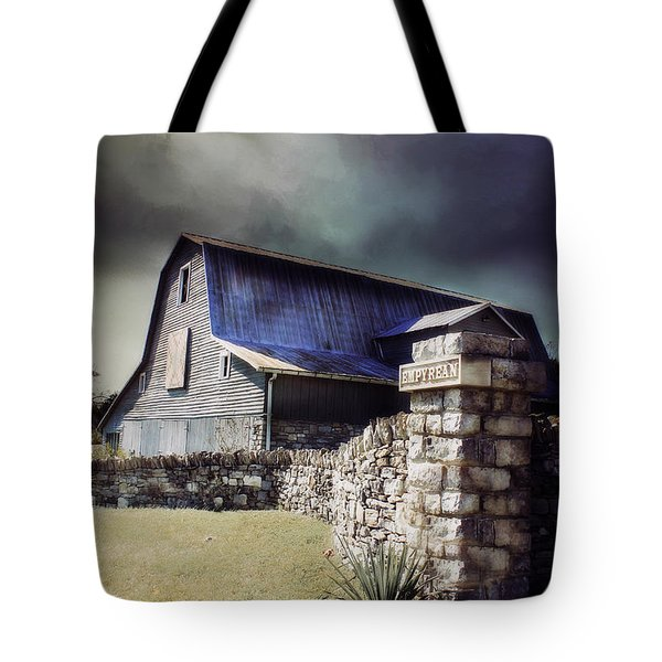 Empyrean Estate Stone Wall Tote Bag