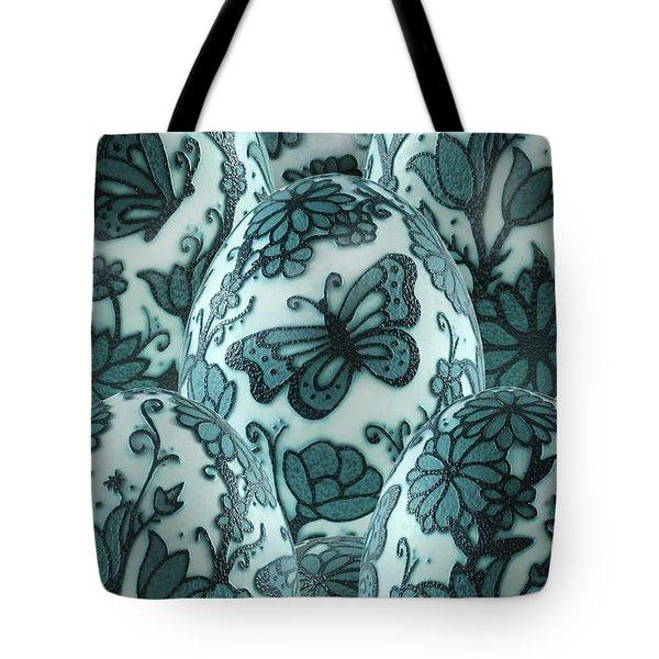 Emu Butterfly Garden Tote Bag