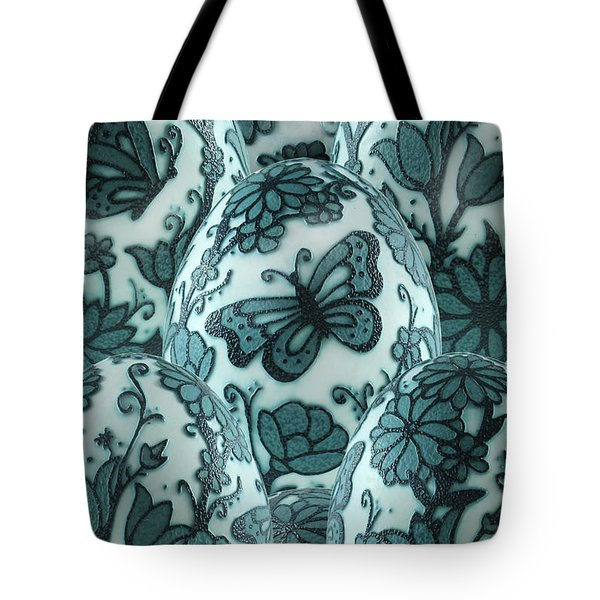 Emu Butterfly Garden Tote Bag