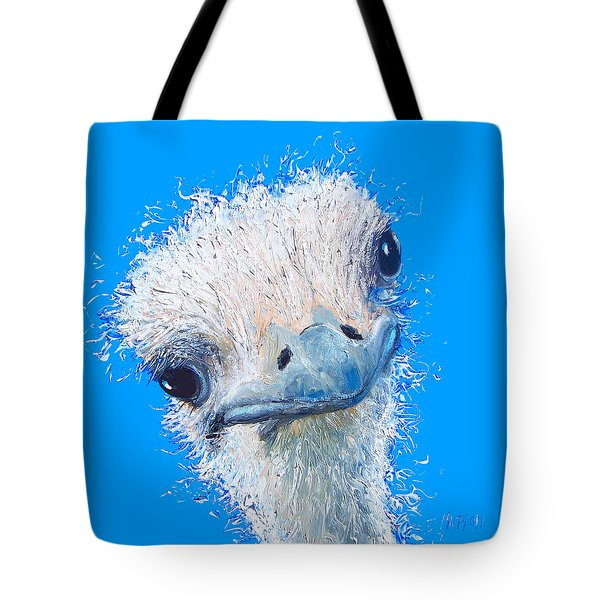 Emu Painting Tote Bag