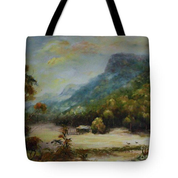 Emu Plains, Grampians Tote Bag