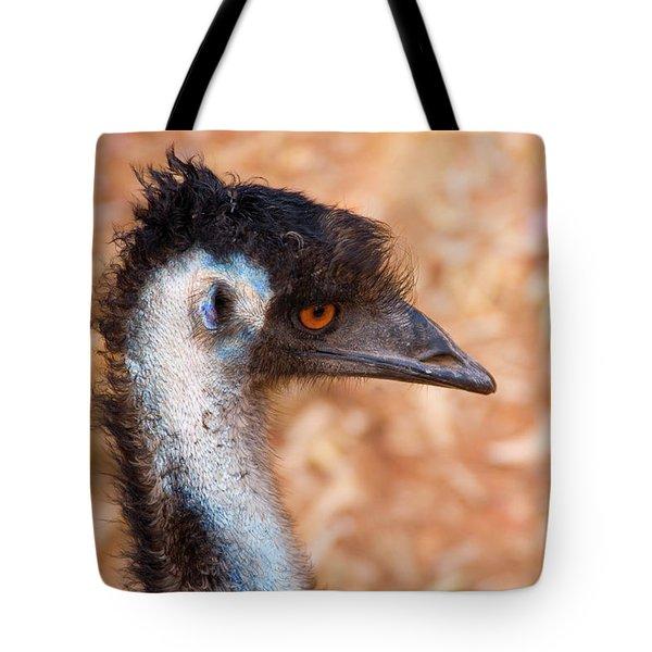 Emu Profile Tote Bag by Mike  Dawson