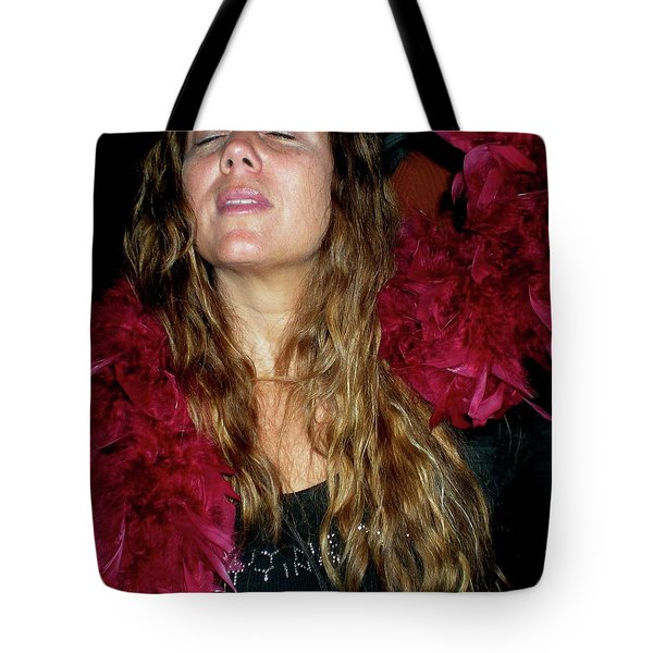 Emulating Janis Tote Bag by Angela Murray