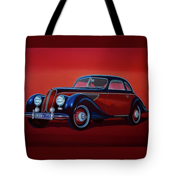 Emw Bmw 1951 Painting Tote Bag by Paul Meijering