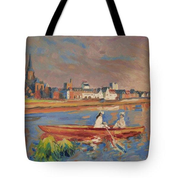 En Bateau De Renoir Sur La Meuse A Maestricht Tote Bag