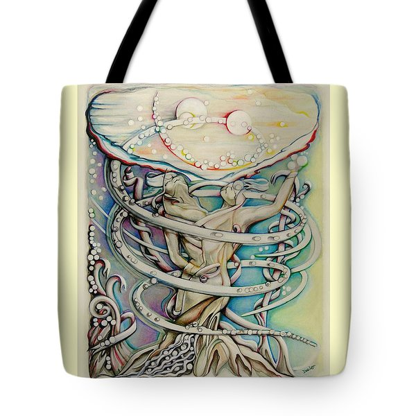 En L'air Par Terre Tote Bag