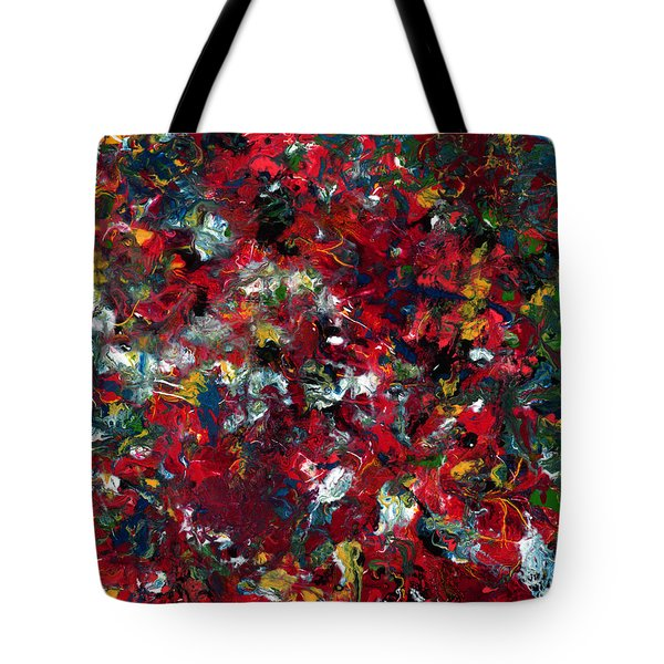 Enamel 1 Tote Bag by James W Johnson