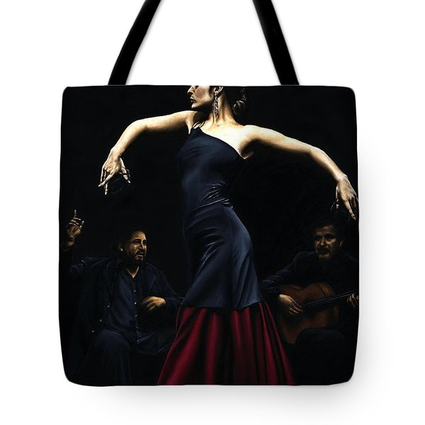 Encantado Por Flamenco Tote Bag by Richard Young