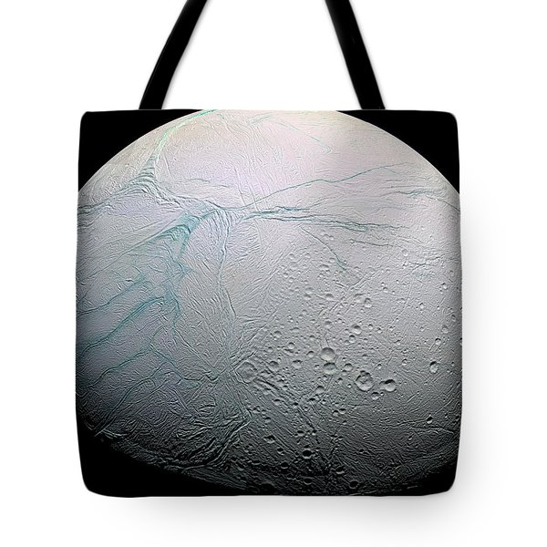 Tote Bag featuring the photograph Enceladus Hd by Adam Romanowicz
