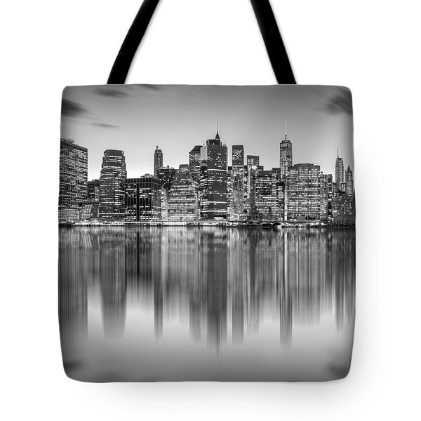 Enchanted City Tote Bag by Az Jackson
