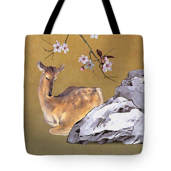 Enchanted Doe Tote Bag