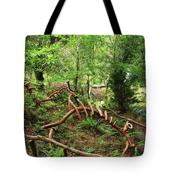 Enchanted Forest Tote Bag by Aidan Moran