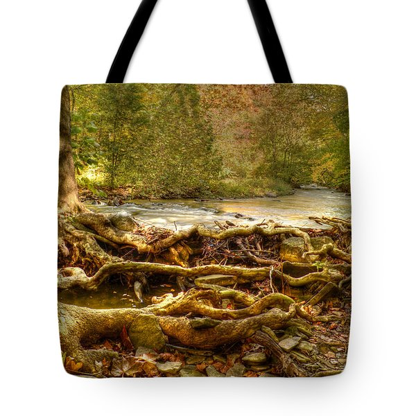 Enchanted Forest Tote Bag by Ann Bridges