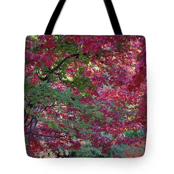 Enchanted Forest Tote Bag by Doris Potter