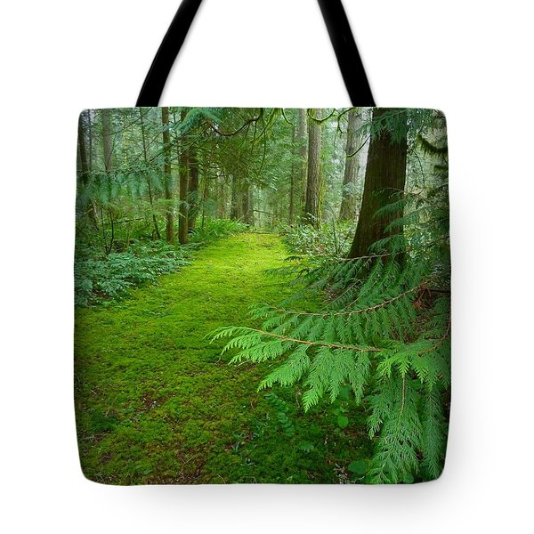 Enchanted Forest Tote Bag by Patricia Strand