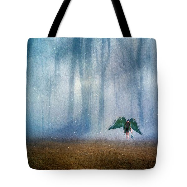 Enchanted Forest Tote Bag by Yvonne Emerson AKA RavenSoul