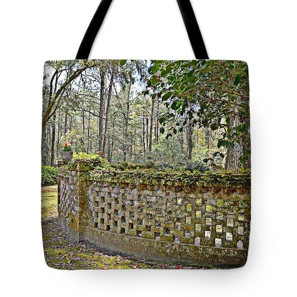Enchanted Garden Tote Bag by Linda Brown