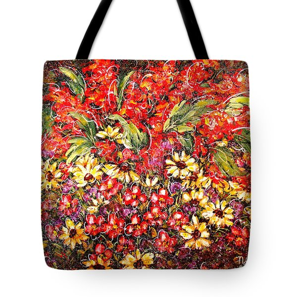 Enchanted Garden Tote Bag by Natalie Holland