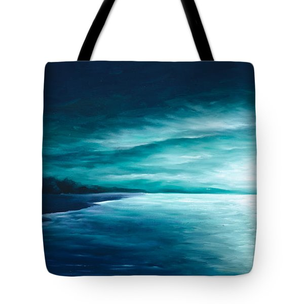 Enchanted Moon I Tote Bag by James Christopher Hill