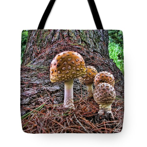 Enchanted Mushrooms Tote Bag