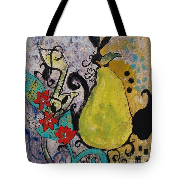 Enchanted Pear Tote Bag