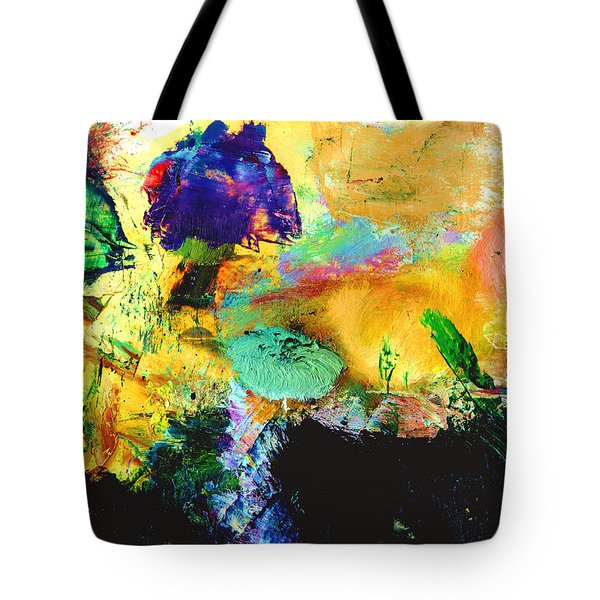 Enchanted Reef #306 Tote Bag by Donald k Hall