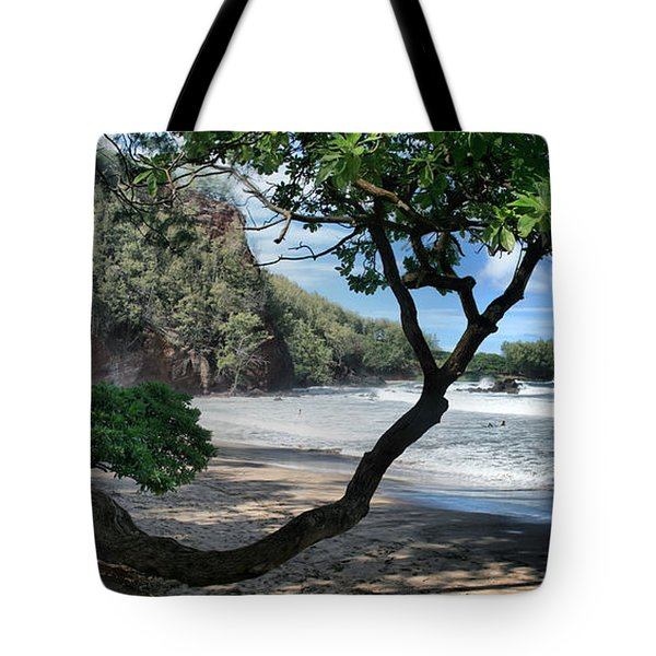 Enchanted Rocks Koki Beach Haneoo Hana Maui Hawaii Tote Bag