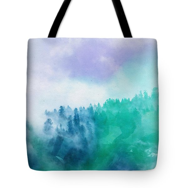 Tote Bag featuring the photograph Enchanted Scenery by Klara Acel
