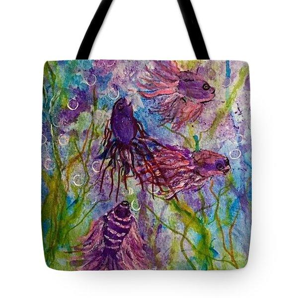 Enchanted Sealife Party Tote Bag