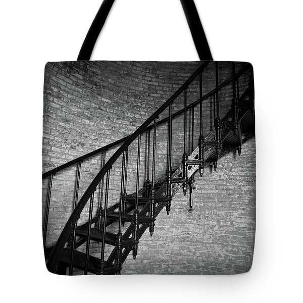 Enchanted Staircase II - Currituck Lighthouse Tote Bag