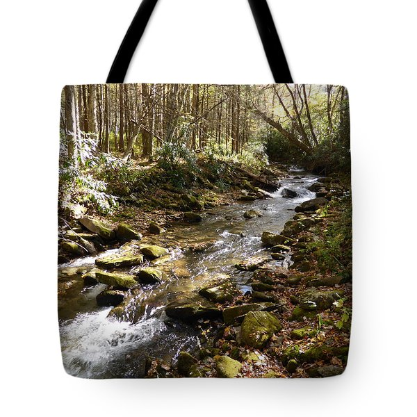 Enchanted Stream - October 2015 Tote Bag
