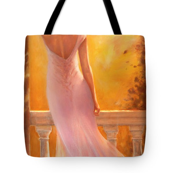 Enchanted Summer Tote Bag by Michael Rock